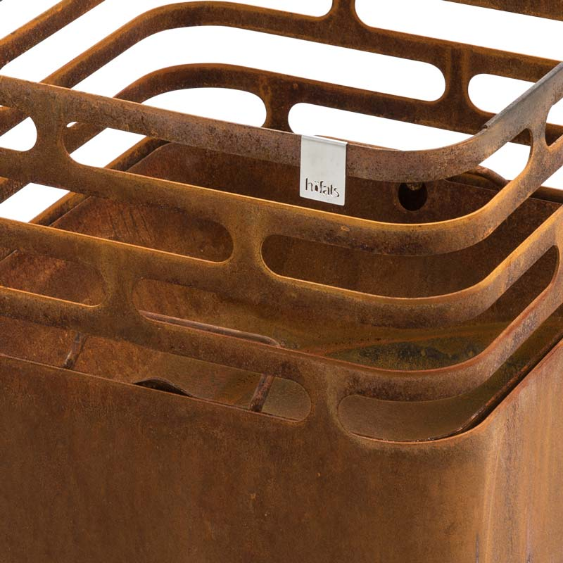 CUBE Ash Tray rusty